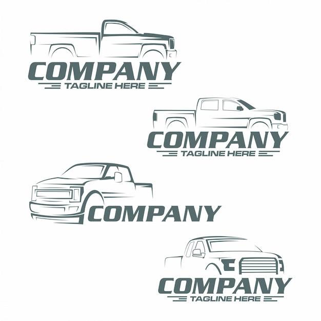 Pick-up truck logo