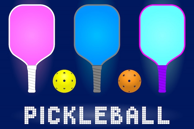 Pickleball paddle rackets a