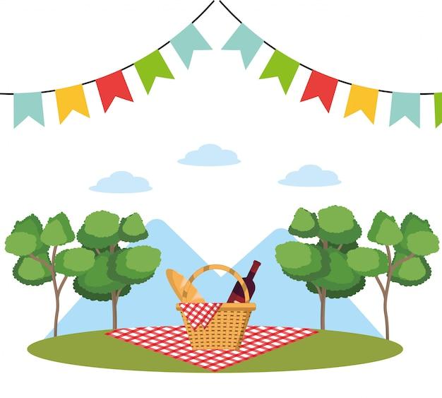 Picknick op park