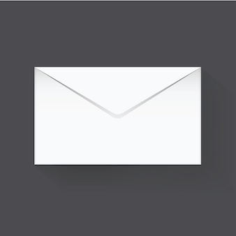 Pictogram grafische e-mailcommunicatie vectorillustratie