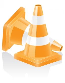 Pictogram verkeerskegel.