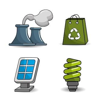 Pictogram verkleinen, hergebruiken en recyclen