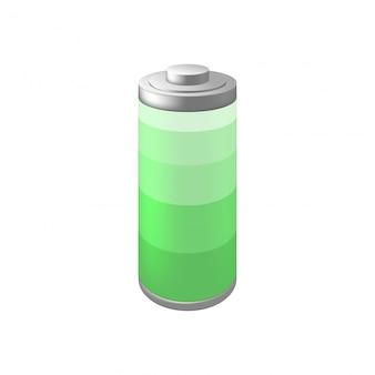 Pictogramclip voor batterij