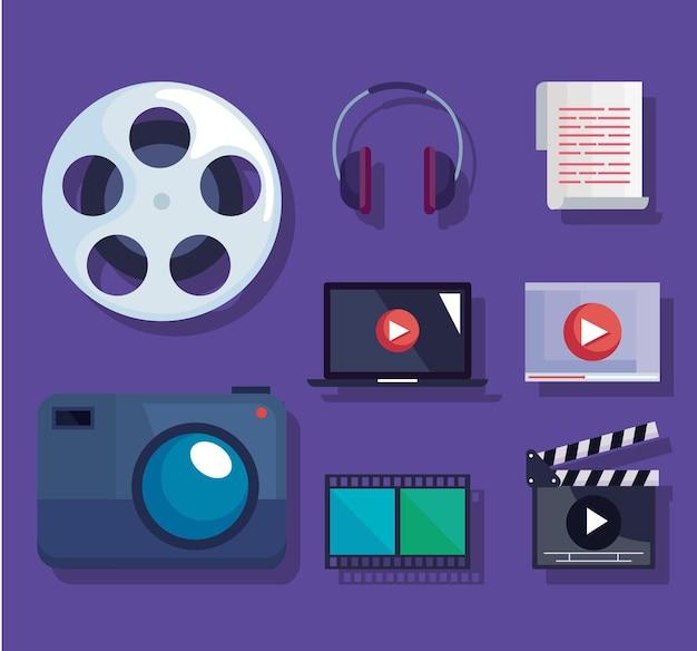 Pictogramgroep videoproductie