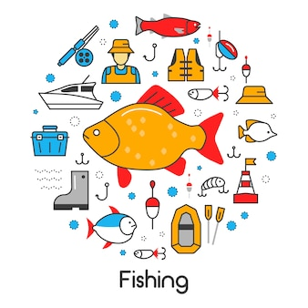 Pictogrammen instellen met visser en hulpmiddelen