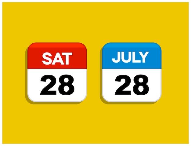 Pictogrammen kalender