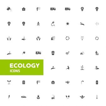 Pictogrammen van de ecologie