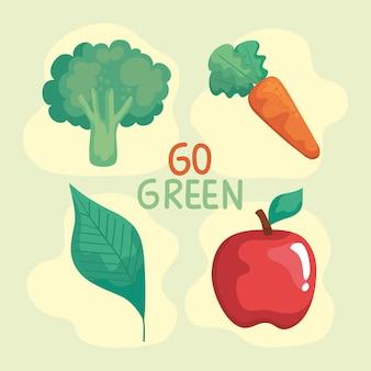 Pictogrammen van groenten