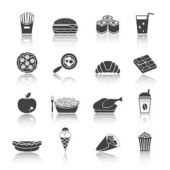 Pictogrammen van het voedsel
