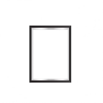 Picture frame met black boarder