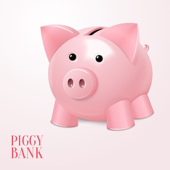 Piggy bank illustratie