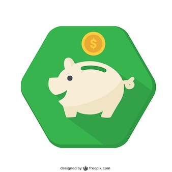 Piggybank badge