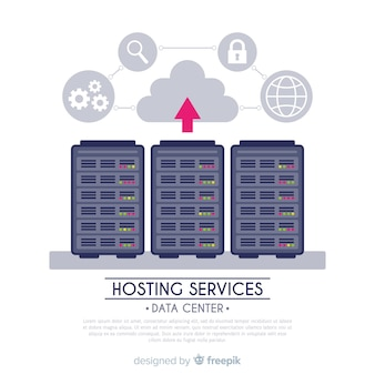 Pijl hosting service achtergrond