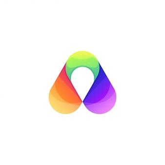 Pijl logo sjabloon