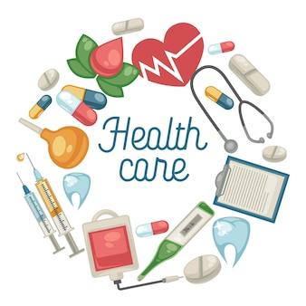 Pillen en medische hulpmiddelen medische behandeling en medicijnen voor de gezondheidszorg