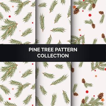 Pine tree patroon collectie