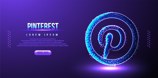 Pinterest sociale media marketing achtergrond
