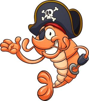 Piraat garnalen