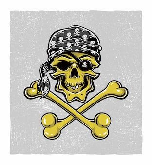 Piraat schedel