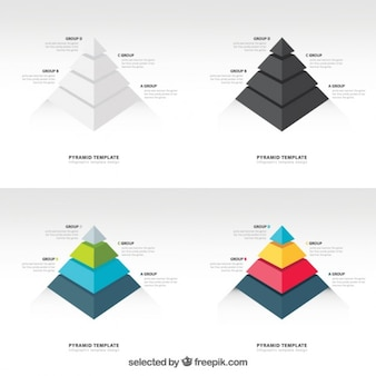 Piramide graphics