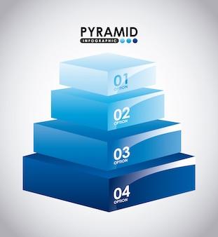 Piramide infographic