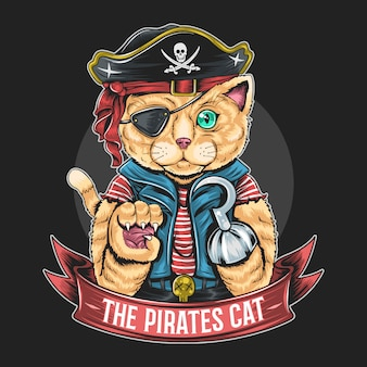 Piraten cat