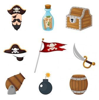 Piraten gaan zitten