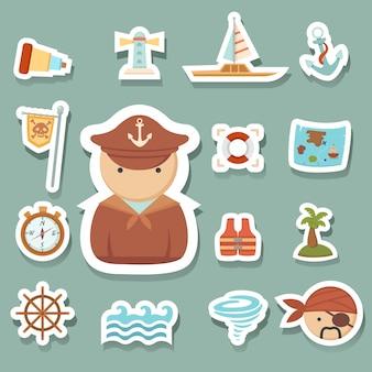 Piraten pictogrammen