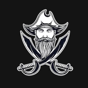 Piraten t-shirt ontwerp