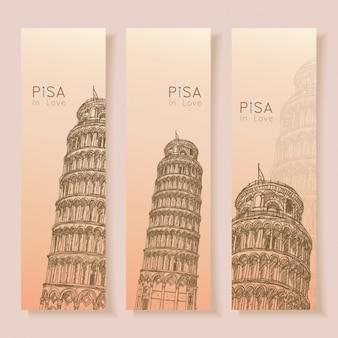 Pisa banners collectie