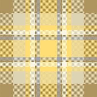 Pixel achtergrondontwerp. moderne naadloze patroon plaid. vierkante textuurstof. tartan schots textiel. schoonheid kleur madras ornament.