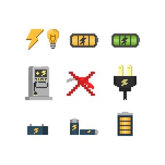 Pixel elektrische energie