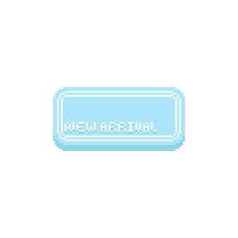 Pixel nieuwe aankomstbanner