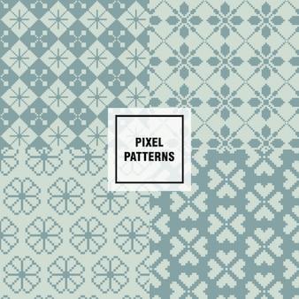 Pixel patronen collectie