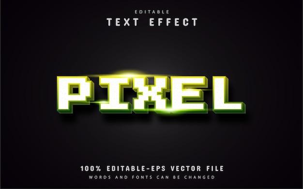 Pixel teksteffect