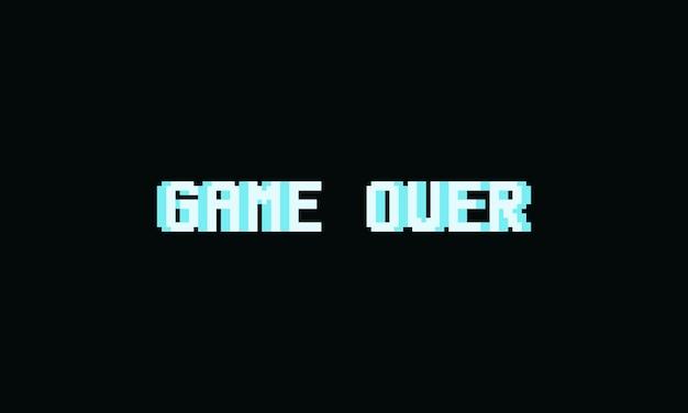 Pixelspel over tekst