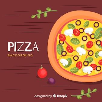 Pizza achtergrond