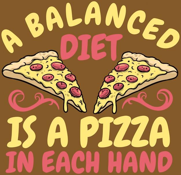 Pizza dieet