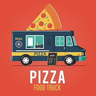 Pizza food truck
