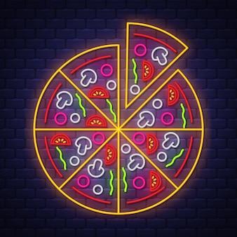 Pizza neonreclame