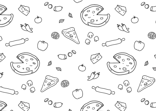 Pizza patroon