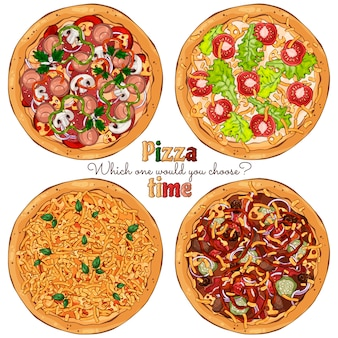 Pizza tijd