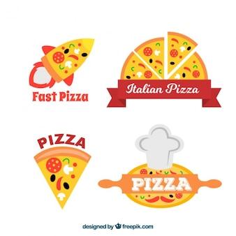 Pizzeria emblemen