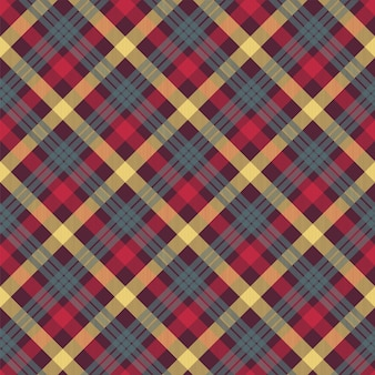 Plaid rode kleur naadloos patroon