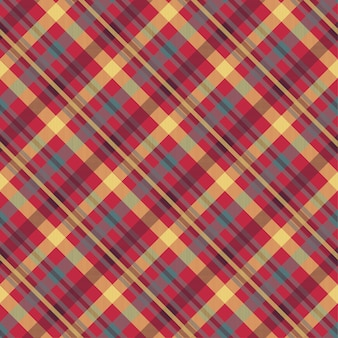 Plaid rode kleur naadloos patroon
