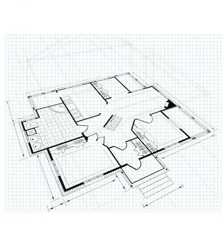 Plan een landhuis