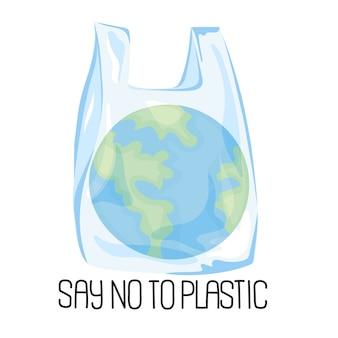 Planeet plastic ecologisch probleem