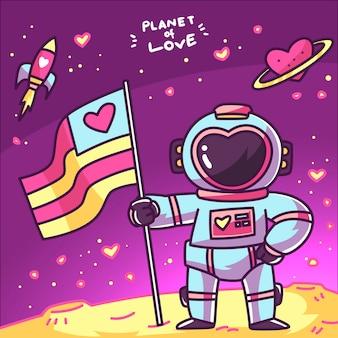 Planeet van liefde