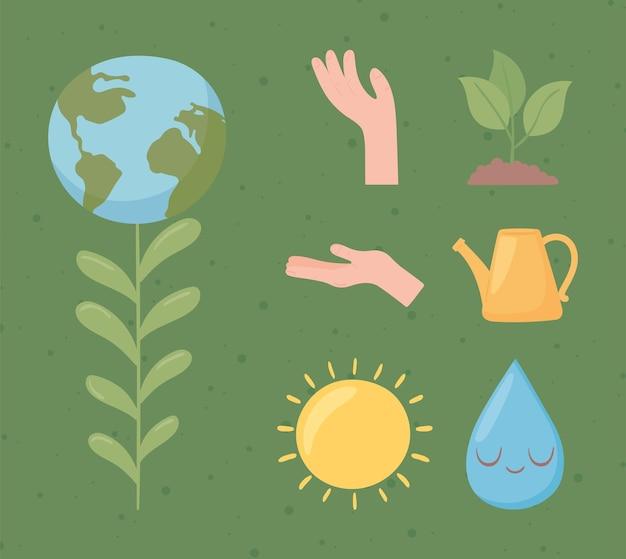 Planeetmilieu en ecologie