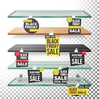 Planken voor supermarkten